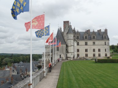 The famous chateau at Amboise
