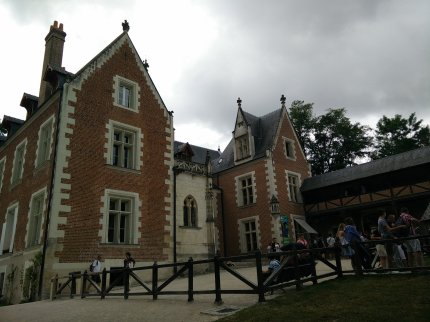 Chateau du Close Luce, Da Vinci's home for the last few years of his life in Amboise