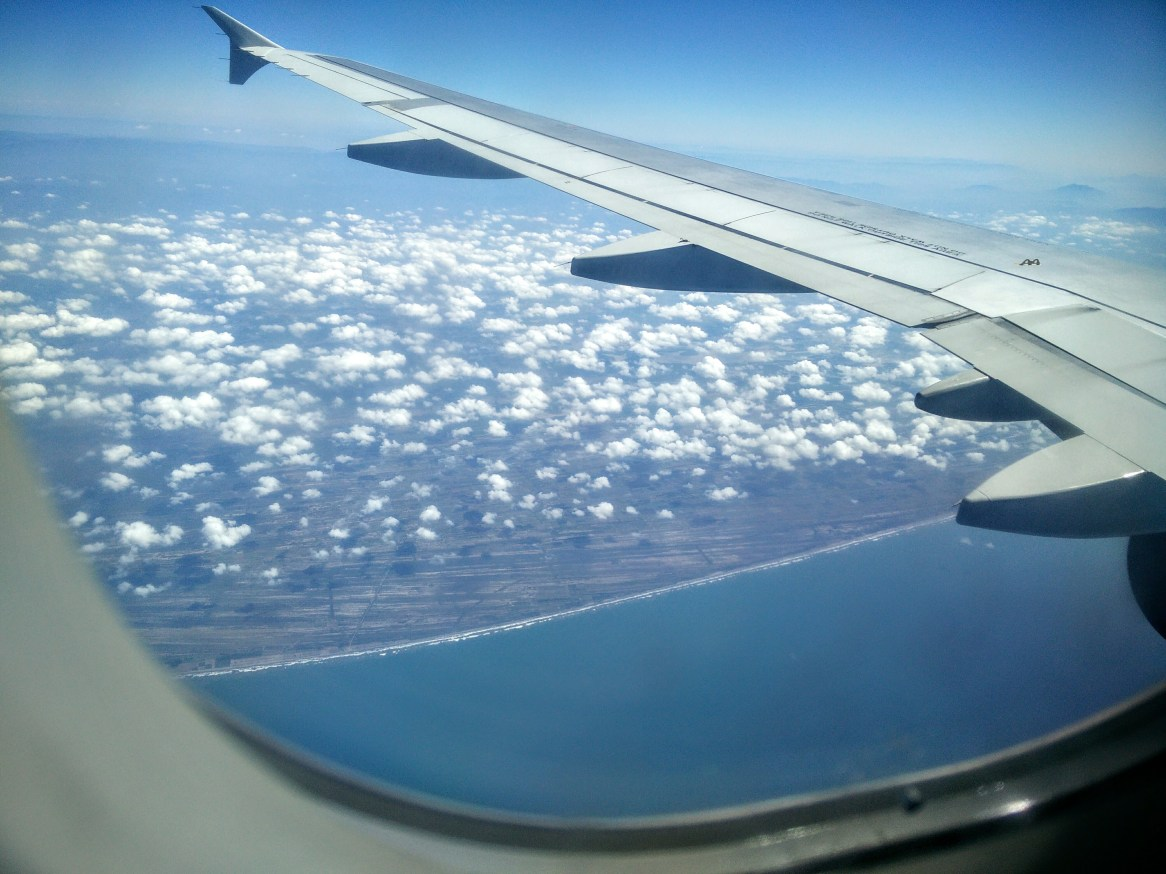 The epic Mexican Pacific-coast beaches, flying into Puerto Vallarta.