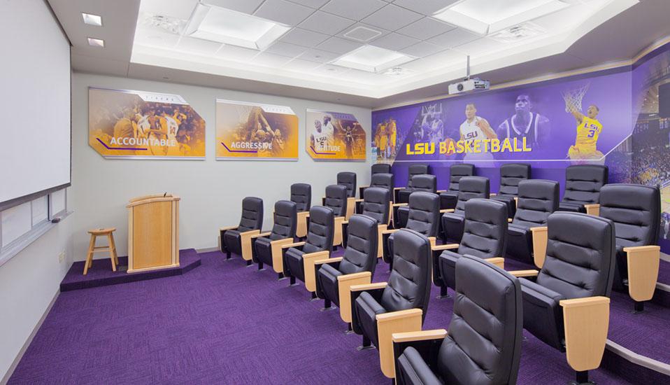 Louisiana State University  Basketball Practice Facility