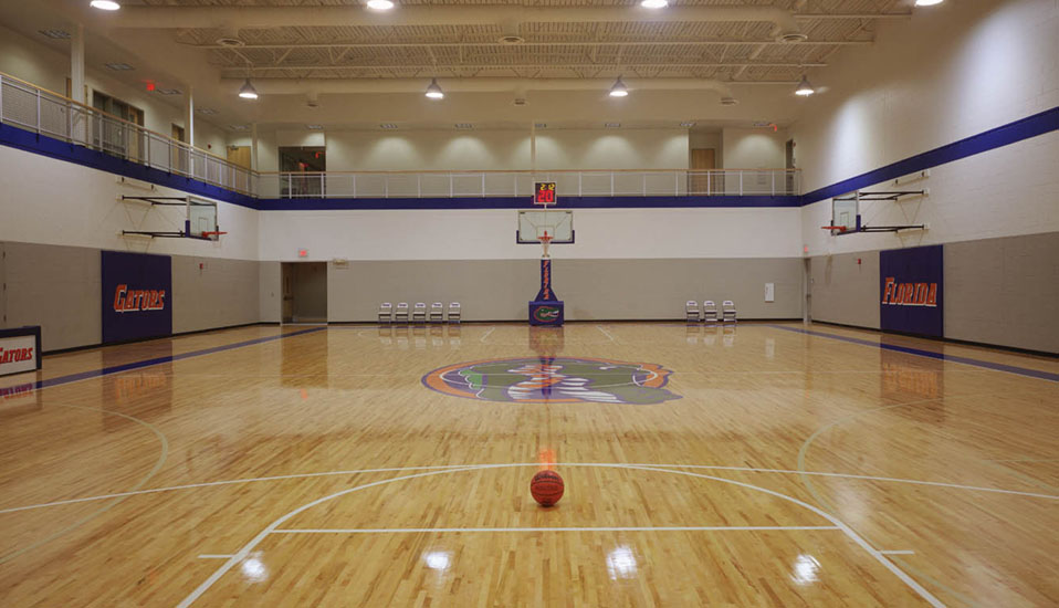 University Of Florida Basketball Practice Facility