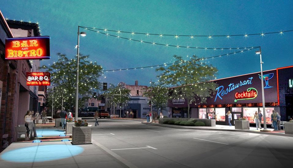 Downtown Benson Streetscape Improvements  RDG Planning  Design