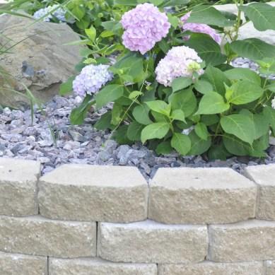 wraparound retaining wall
