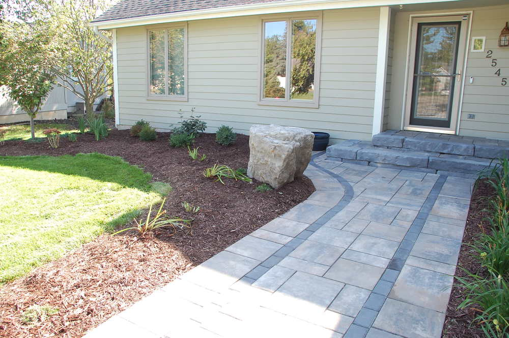 landscape paver patio walkway r d