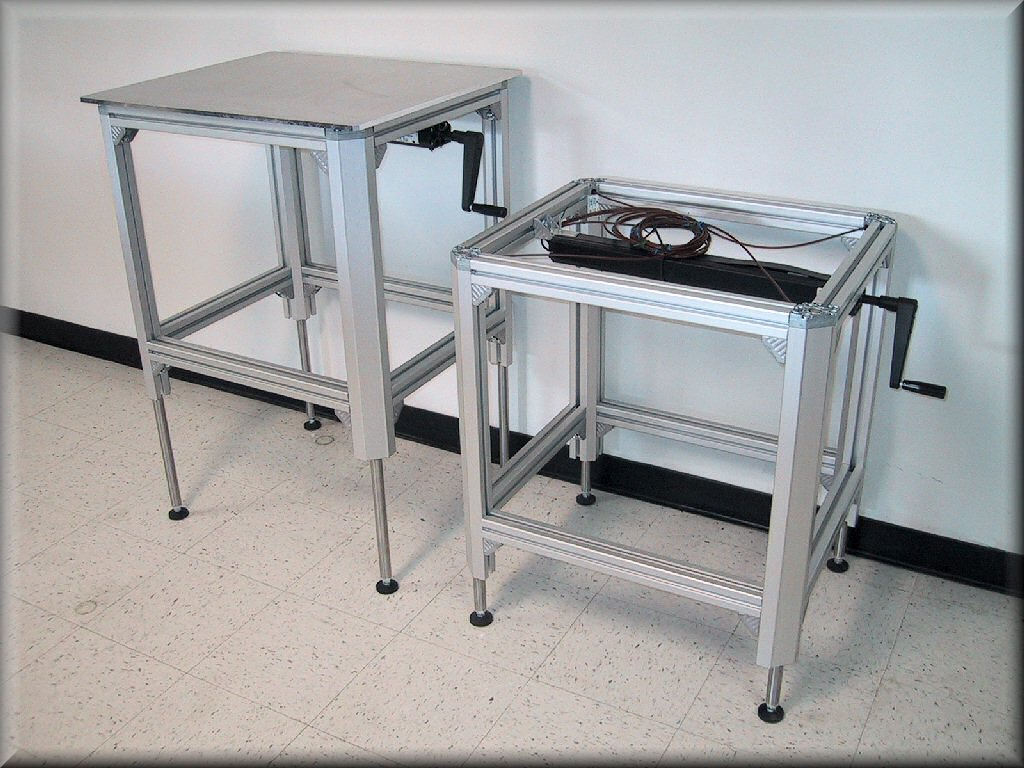 Adjustable Height Tables Archives  RDM Industrial Products