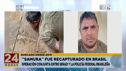 Samura enfrentará proceso de extradición, confirma fiscal