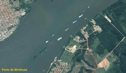 Porto de Miritituba - Ferrogr�o