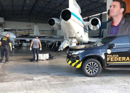 Apreens�o de drogas no aeroporto internacional de Salvador