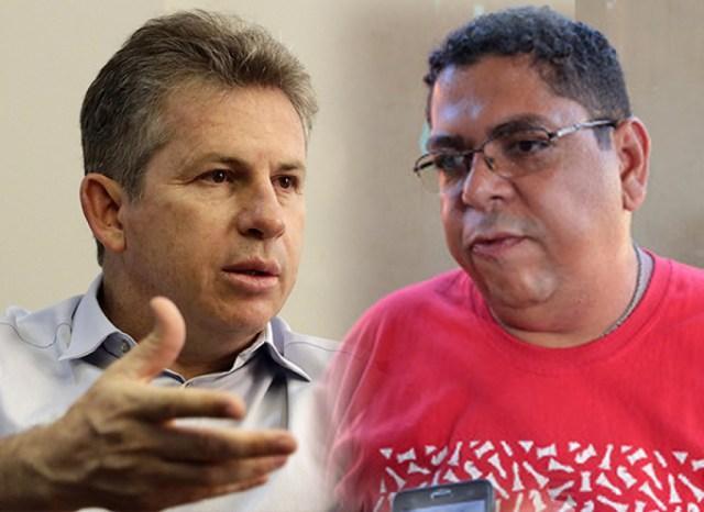 Mauro Mendes e Valdeir Sintep