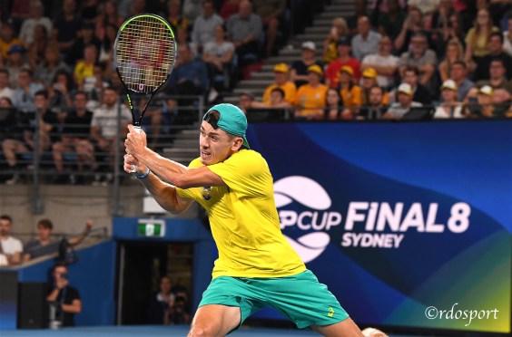 Alex De Minar - Team Australia - ATP CUP 2020 Sydney - foto di Roberto Dell'Olivo