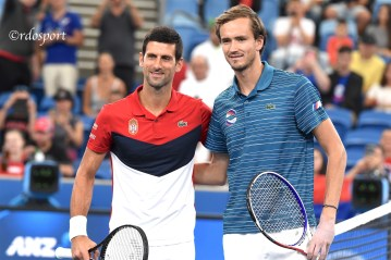 Novak Djokovic e Daniil Medvedev - ATP CUP 2020 Sydney