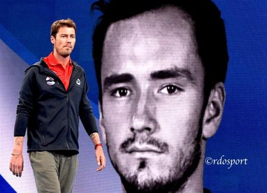 Marat Safin coach Team Russia ATP CUP 2020