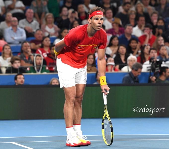 Rafael Nadal - Atp Cup 2020 Sydney - foto di Roberto Dell'Olivo