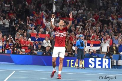 Novak Djokovic Atp Cup 2020 Sydney - foto di Roberto Dell'Olivo