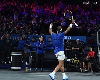 Rafael Nadal - Team Europe - Laver Cup 2019 Ginevra