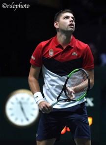Filip Krajinovic - Serbia Davis Cup Madrid 2019