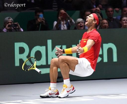 Rafael Nadal - Team Espana - Davis Cup Madrid 2019 - foto di Roberto Dell'Olivo
