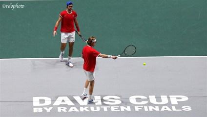 Team Russia doppio - Davis Cup Madrid 2019