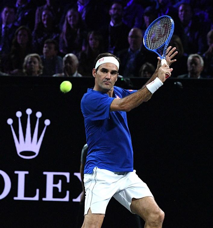 Roger Federer - Team Europe Laver Cup 2019 Ginevra