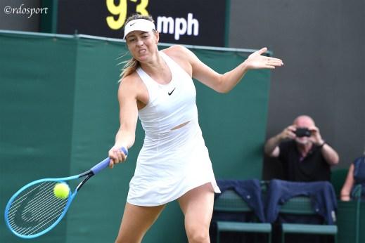 Maria Sharapova - Wimbledon 2019 - foto di Roberto Dell'Olivo