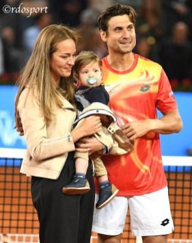 Ritratto della famiglia Ferrer - Mutua Madrid Open 2019