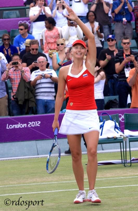 Maria Sharapova - London '12 ©rdosport