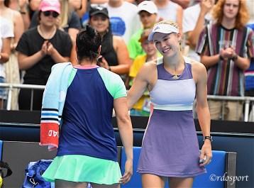 Wozniaki saluta il tennis