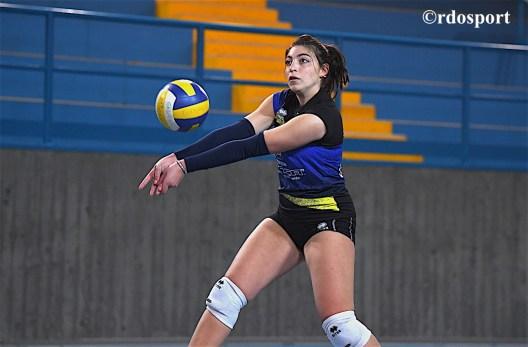 Anna Ravazzolo in difesa (©rdosport)