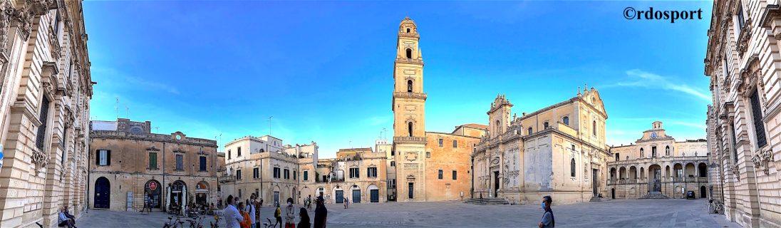Una gita anche a Lecce non poteva mancare (©rdosport)