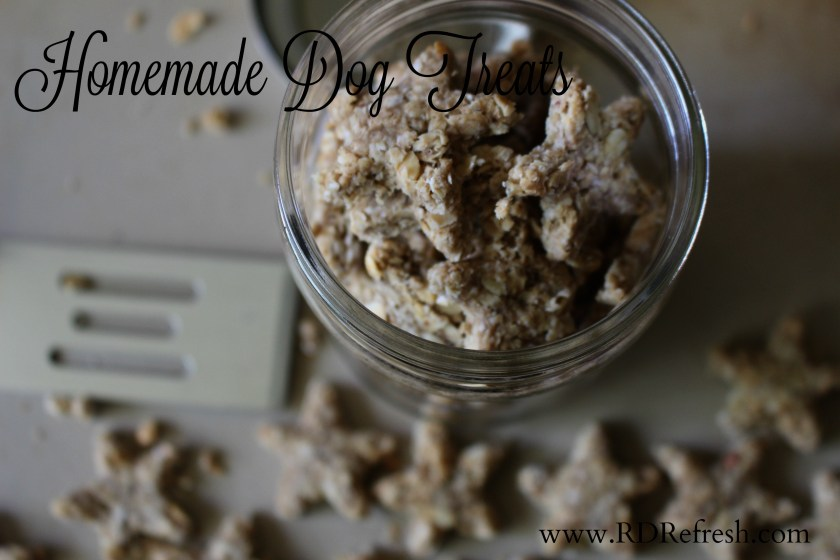 Homade dog treats