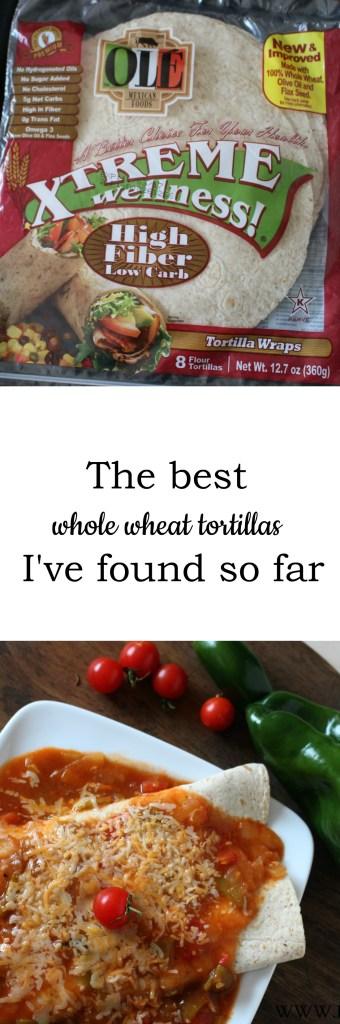 Xtreme Wellness Tortillas Pin