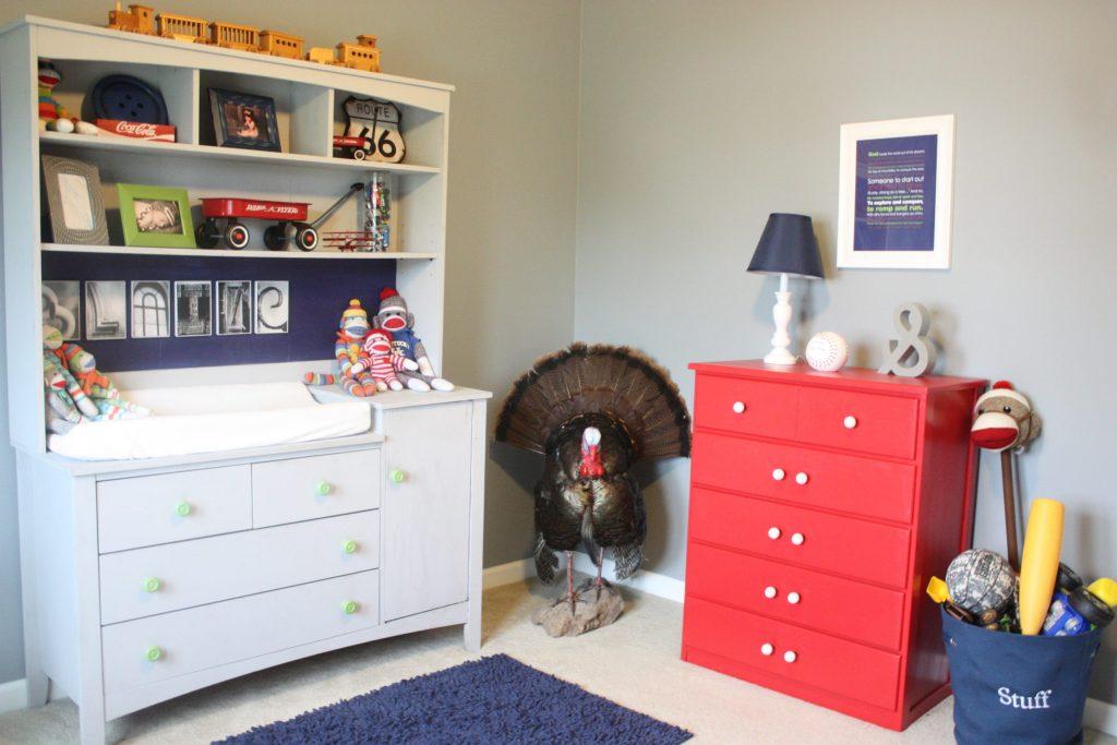 Little Boy's Americana Bedroom