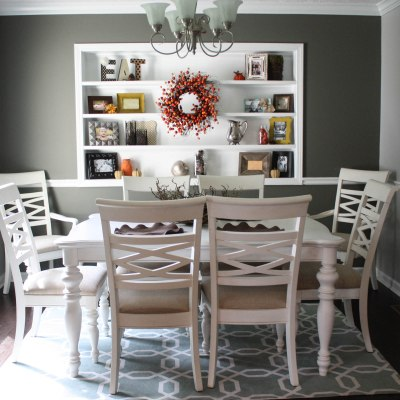 Fall Dining Room Makeover (for under $20)