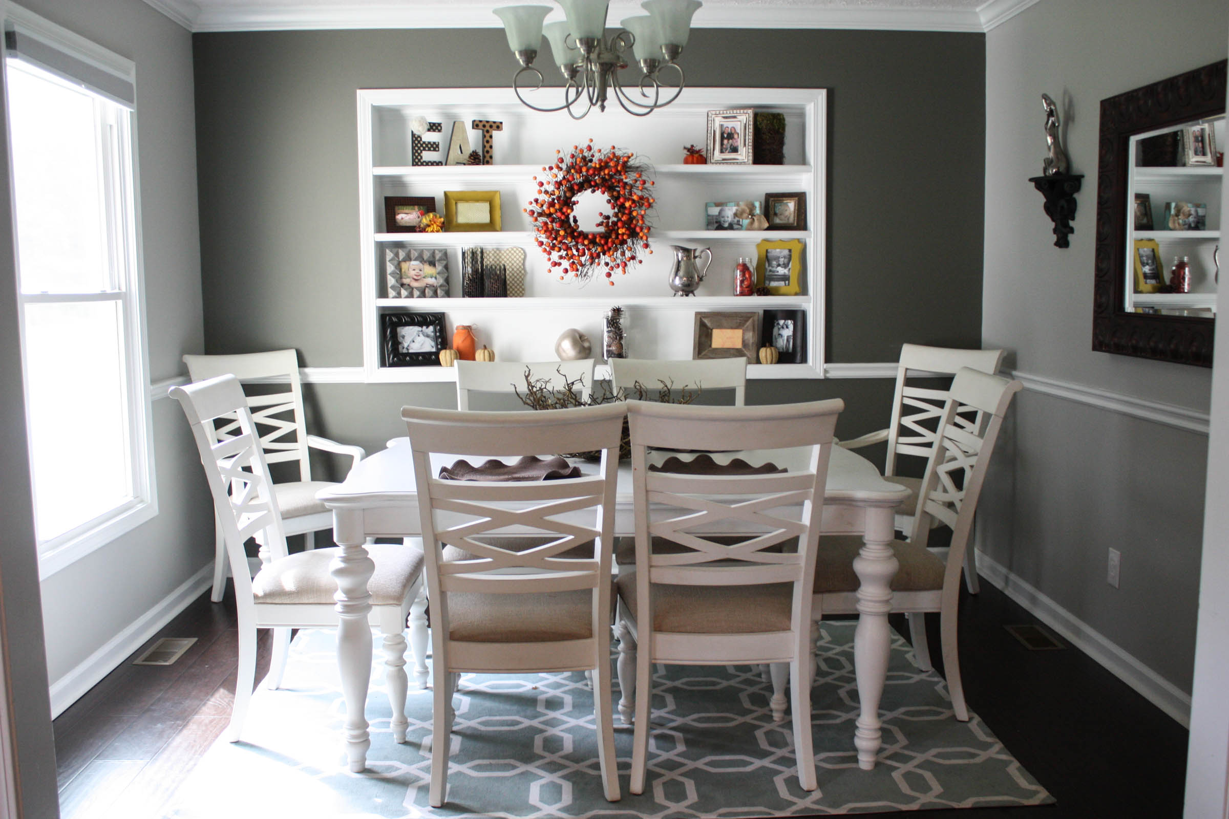 Budget Fall Dining Room Makeover for under $20