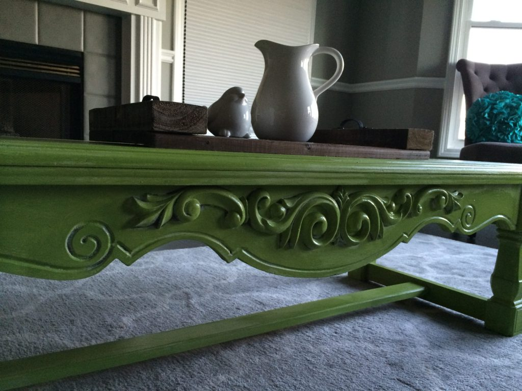 Apple Green Coffee Table