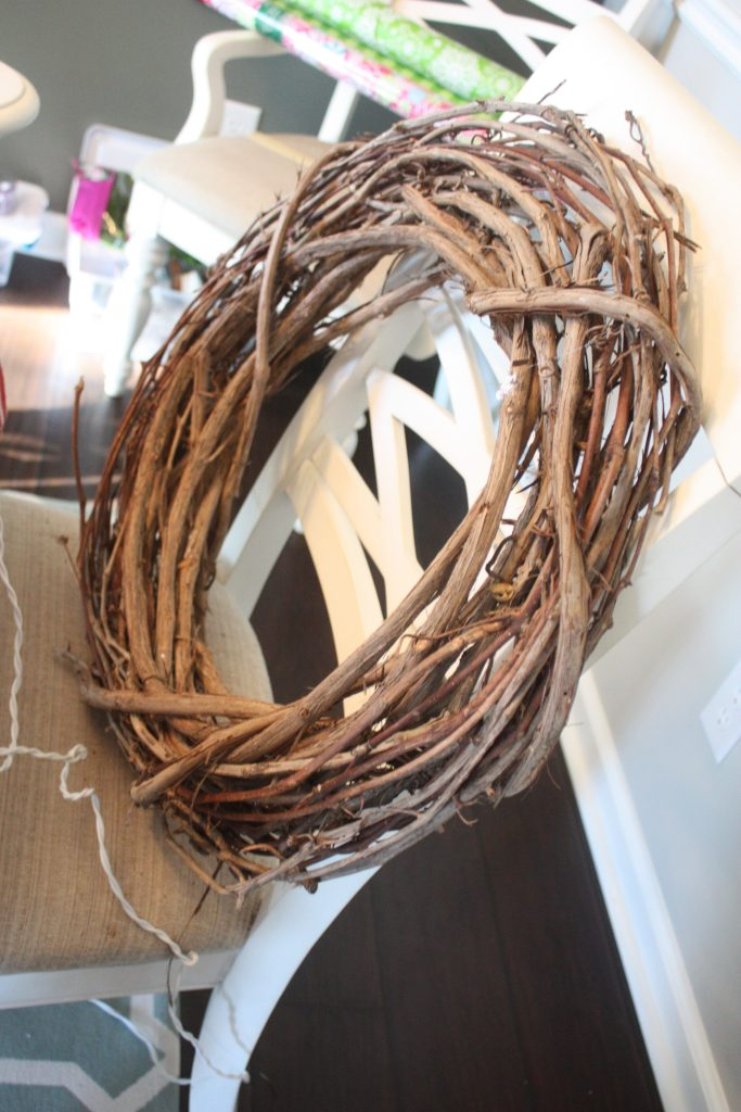 Easy Deer Wreath