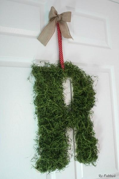Spanish Moss Letter