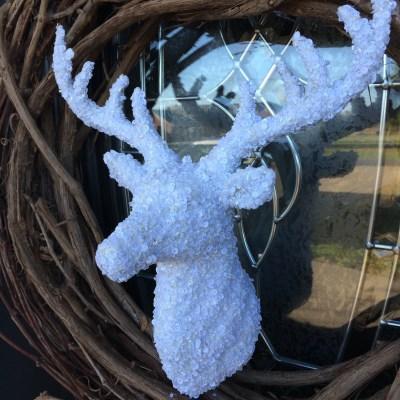 Almost TOO Easy Deer Christmas Wreath