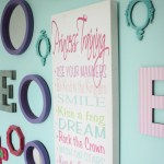 Little Girl's Gallery Wall (On a Budget)