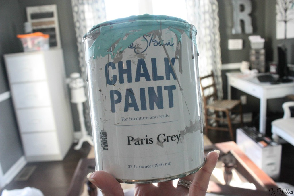 DIY Coffee Table- Annie Sloan Paint