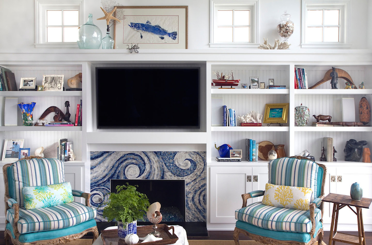 Decorating A Mantel With A Tv Re Fabbed