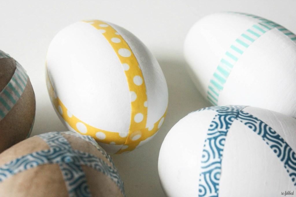 Washi Tape Eggs