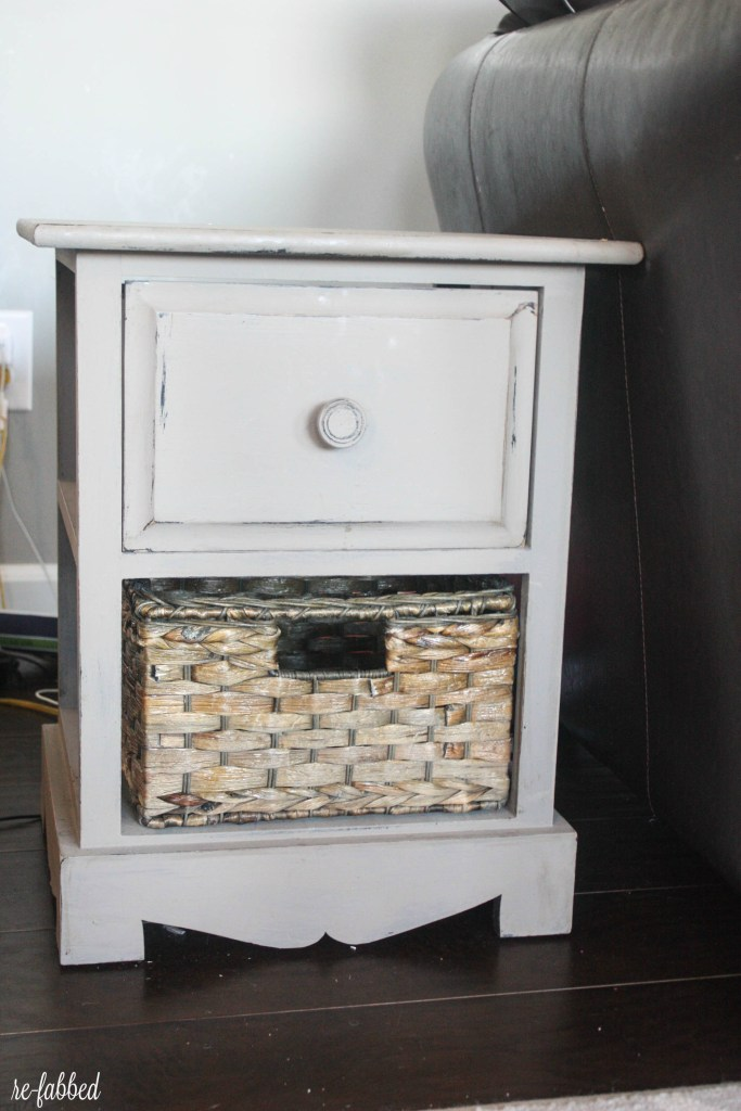 Fred's Side Table Makeover