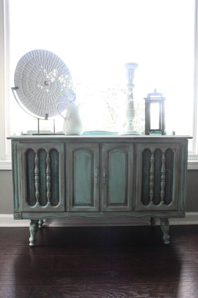 Radio Cabinet Makeover