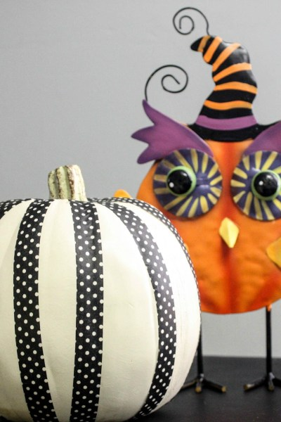 5 Minute Washi Tape Pumpkin Tutorial