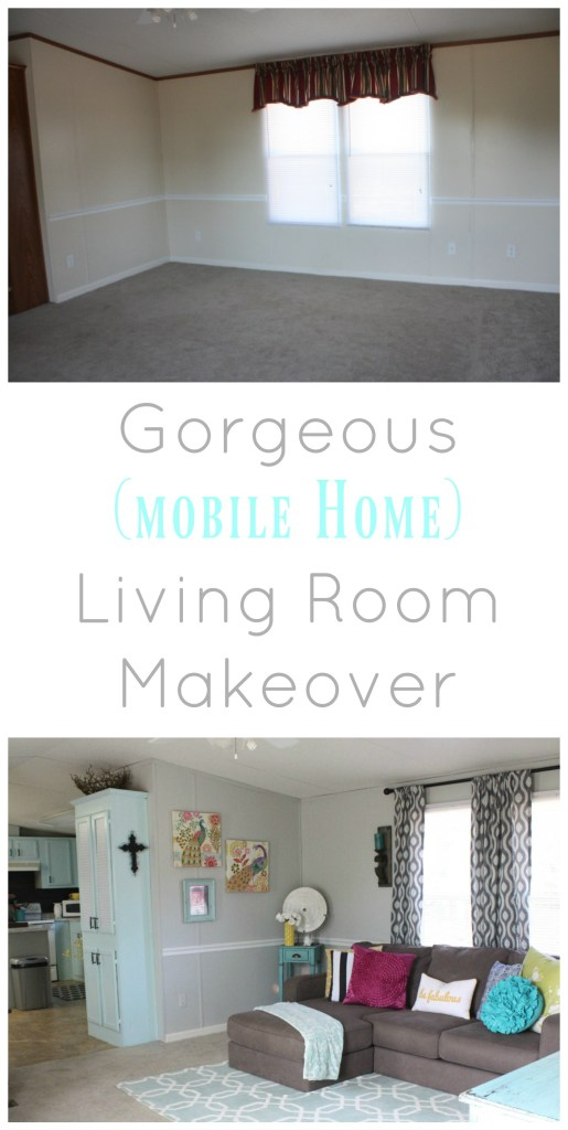 Beautiful Living Room Before and After
