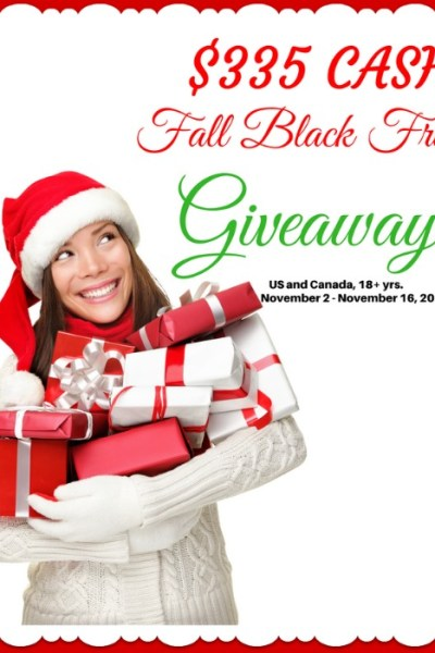 Fall Black Friday Money Giveaway