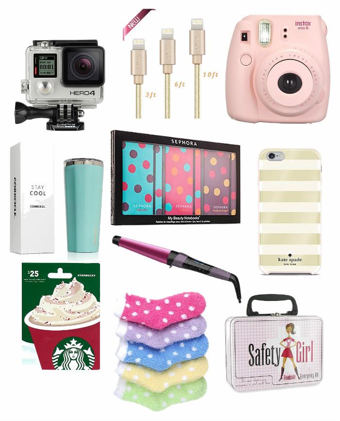 Teen Girl Christmas Gift Guide - Re-Fabbed