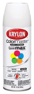 Krylon gloss white spray paint