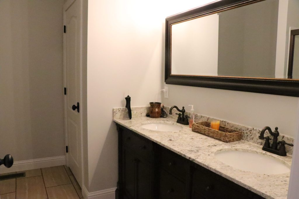 Master Bathroom Before Picture